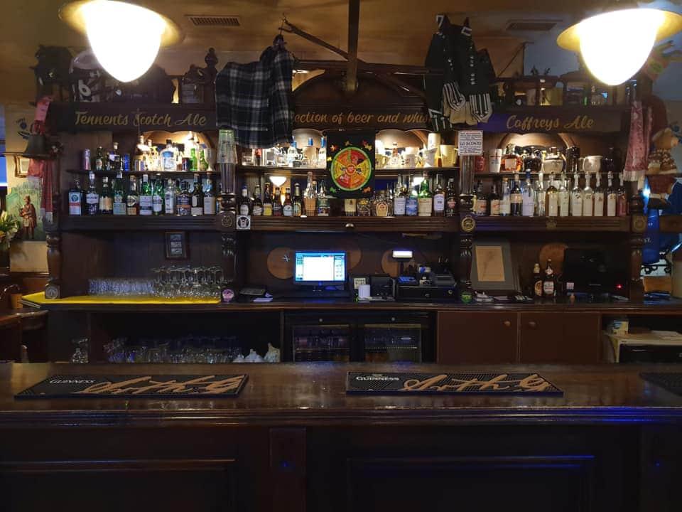 mc gregor's pub-Arcella-Padova-bancone