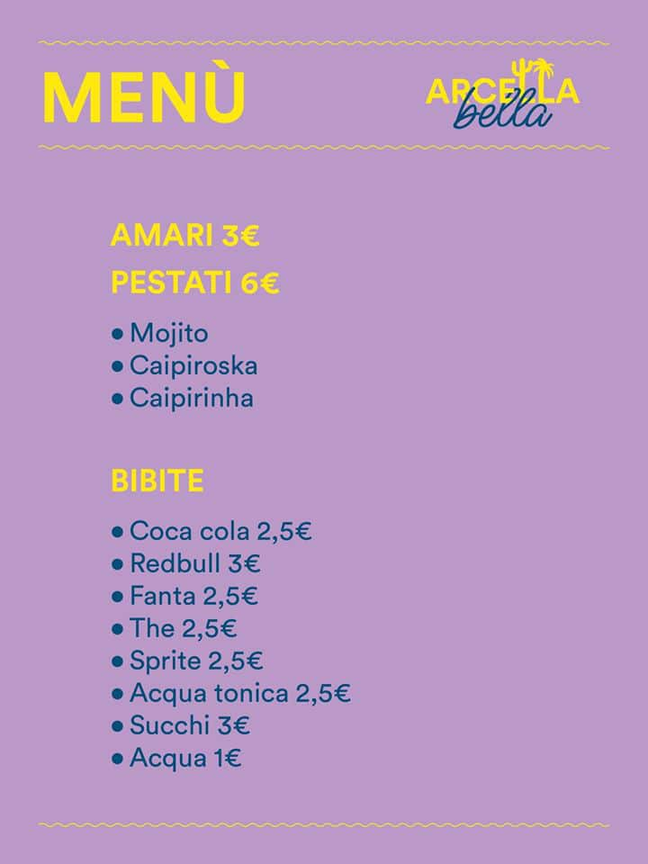 Menù-pestati-bibite-Arcella-Bella-Padova-Parco-Milcovich-2020