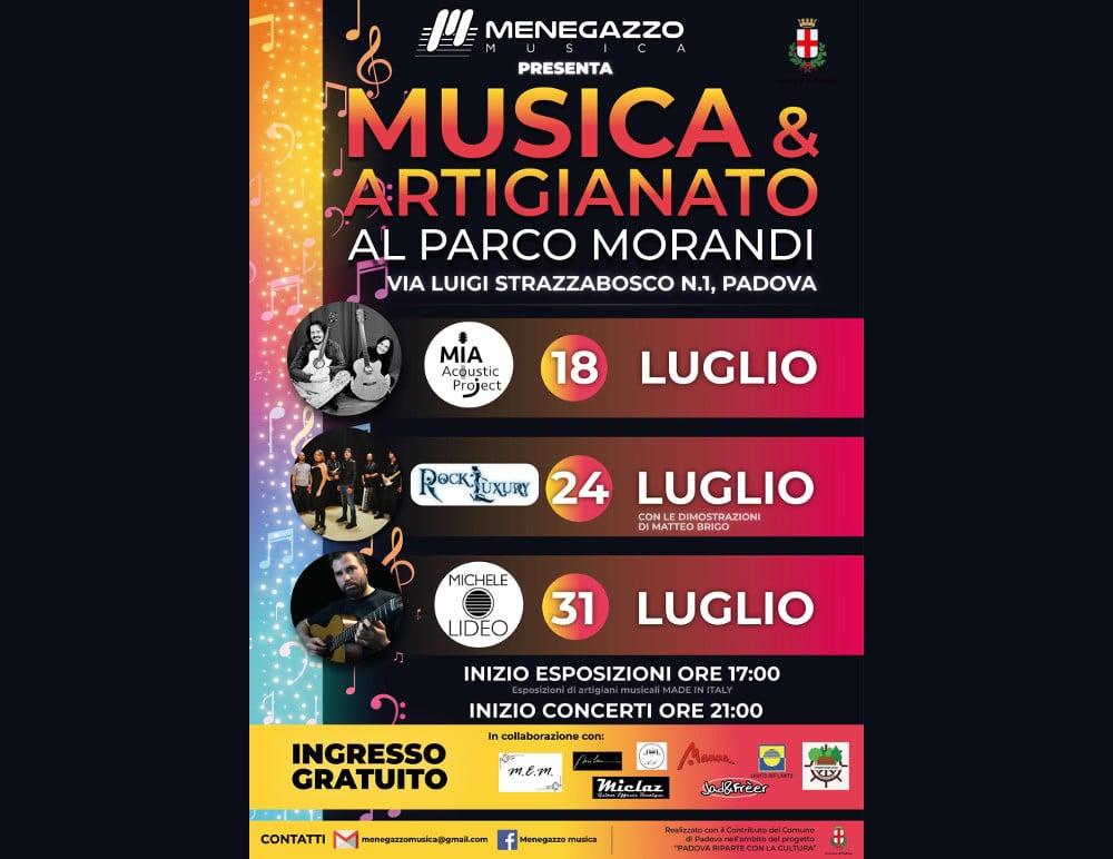 Musica-e-artigianato-Padova-parco-Morandi-domenica-18-sabato-24-31-luglio-2021